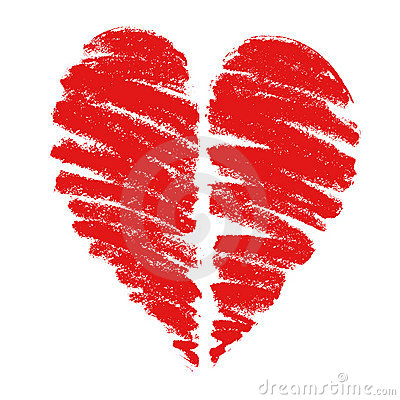 Free Drawing Of A Heart Stock Photo - 17249940