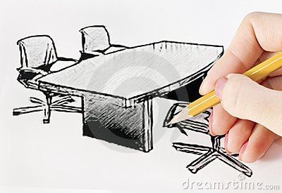 Drawing office furniture