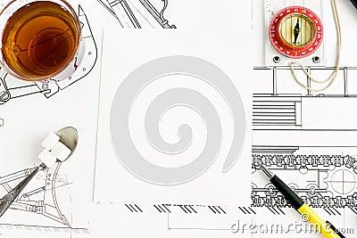 Drawing and tea