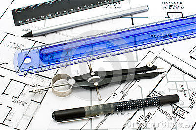 Drawing tools royalty free stock photo image 33585345 House plan drawing tool
