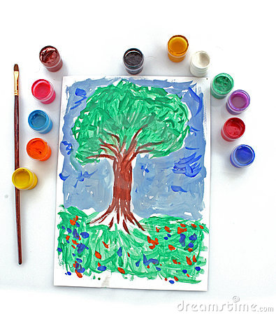 drawing tree