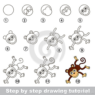 Step By Drawing Tutorial Visual Game For Kids How To Draw A