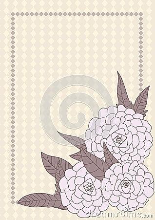 Drawn Flowers Corner Space_eps