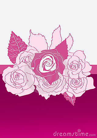 Pink Roses Center_eps