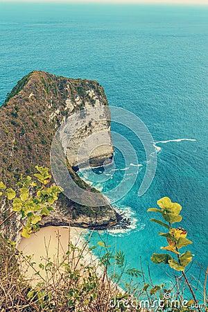 Free Dream Bali Beach At Nusa Penida Stock Images - 107275454
