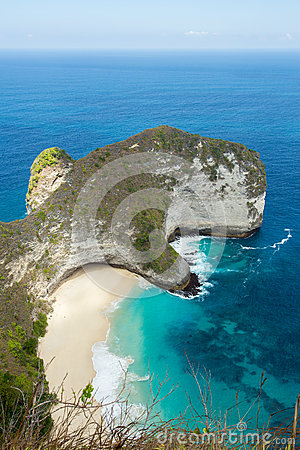 Free Dream Bali Manta Point Diving Place At Nusa Penida Island Royalty Free Stock Photography - 58200127