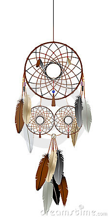 The dream catcher royalty free stock image image 20373846 for Dream catcher graphic