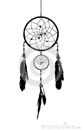 Dream catcher stock photography image 29205572 for Dream catcher graphic