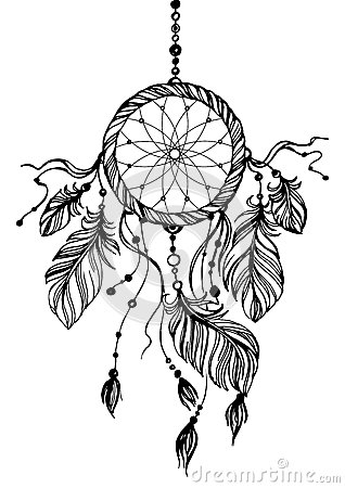 Free Dream Catcher, Traditional Native American Indian Symbol. Stock Photo - 66486220