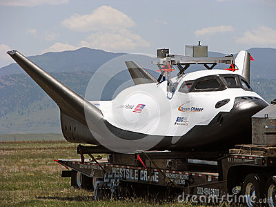 The Dream Chaser Editorial Stock Photo