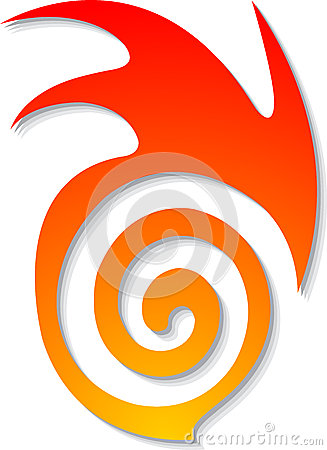 Dream flame logo