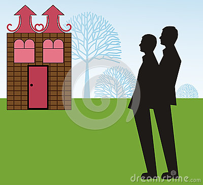 Dream Home gay Couple