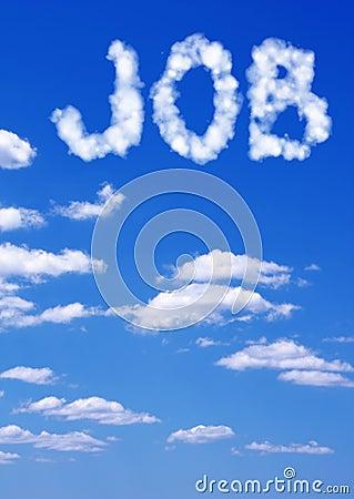 Dream of job