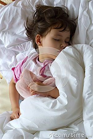 Dream of little girl