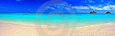 Dream panorama beach