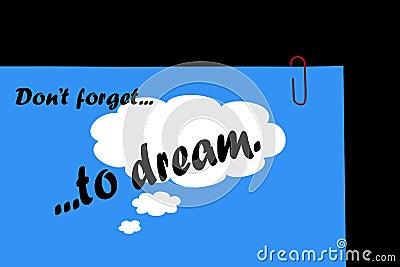 Dream, Plan, Achieve, Success.