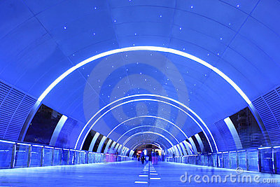 The Dream Tunnel Editorial Stock Image