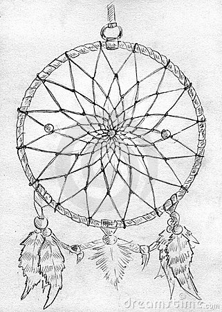 Free Dreamcatcher - Sketch Stock Image - 14133961