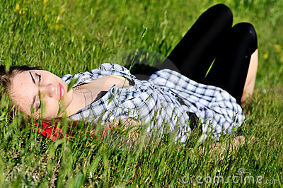Dreaming in grass