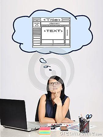 Dreaming at web page