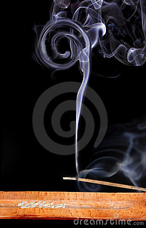 Free Dreams Smoke Of Incense Royalty Free Stock Images - 13168109