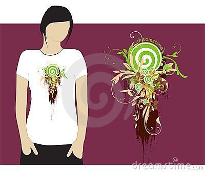 Dreamstime T-shirt design #3