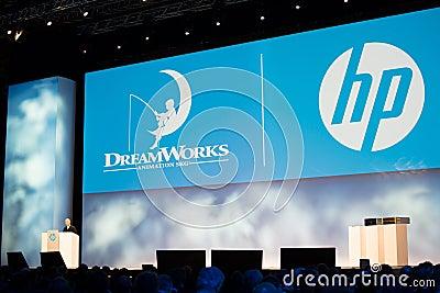 Dreamworks CEO Jeffrey Katzenberg Editorial Photography