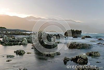 Dreamy landscale in Kaikoura