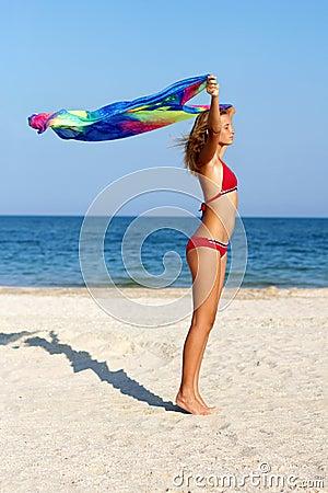 Free Dreamy Teen Girl Stock Photography - 34828052
