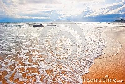 Dreamy tropical beach