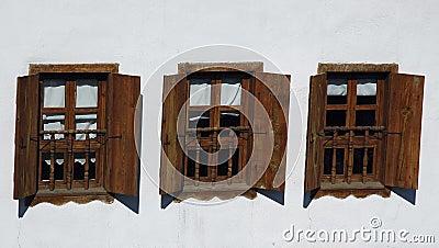Drei Windows