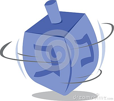 Dreidel Stock Illustration - Image: 54875751