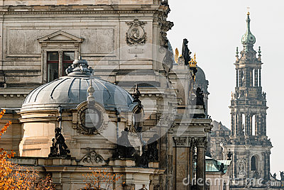Dresden Altstadt, close-up