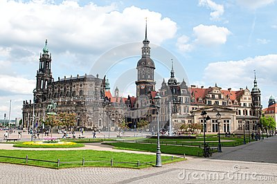 Dresden Old City