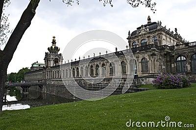 Dresden Palace Exterior