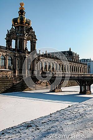 Dresden Zwinger entrance