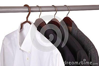 Dress Shirt and Three Jackets