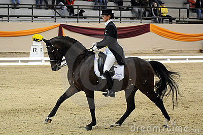 Dressage world cup Editorial Image