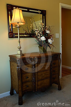Free Dresser In Bedroom Royalty Free Stock Photos - 3554538