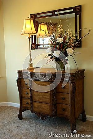 Free Dresser In Master Bedroom Stock Image - 3554541