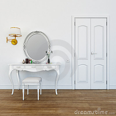 Free Dresser In The Bedroom Stock Photos - 19687233