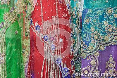 Dresses Indian Colors Detail