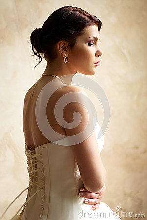 Free Dressing The Bride With Tattoo Stock Photography - 25253332