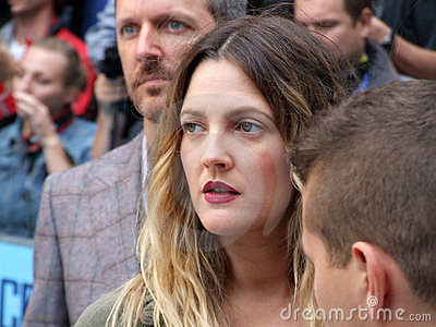 Drew Barrymore At Going The Distance Premiere Editorial Image