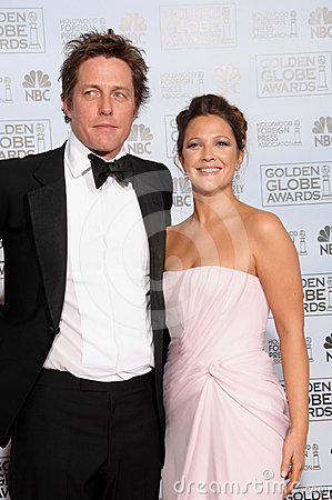 Drew Barrymore, Hugh Grant Editorial Stock Image