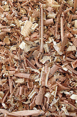 Drewniane wióry tło
