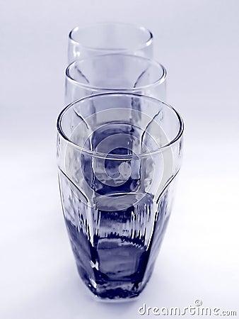 Drie Glazen samen