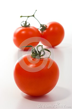 Drie grote tomaten