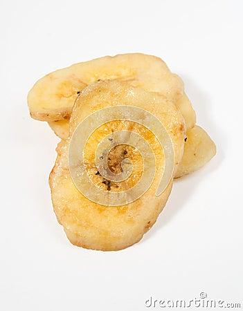 Free Dried Banana Stock Photography - 4330572