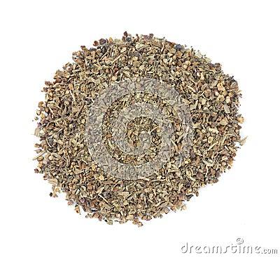 Dried basil seasoning
